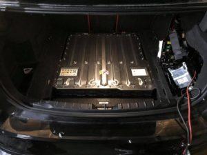 Bateria hybrydowa w samochodzie marki Volvo