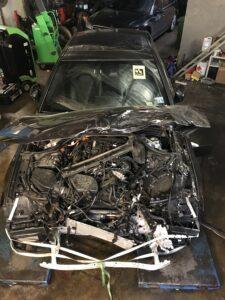 BMW hybrydowe po wypadku