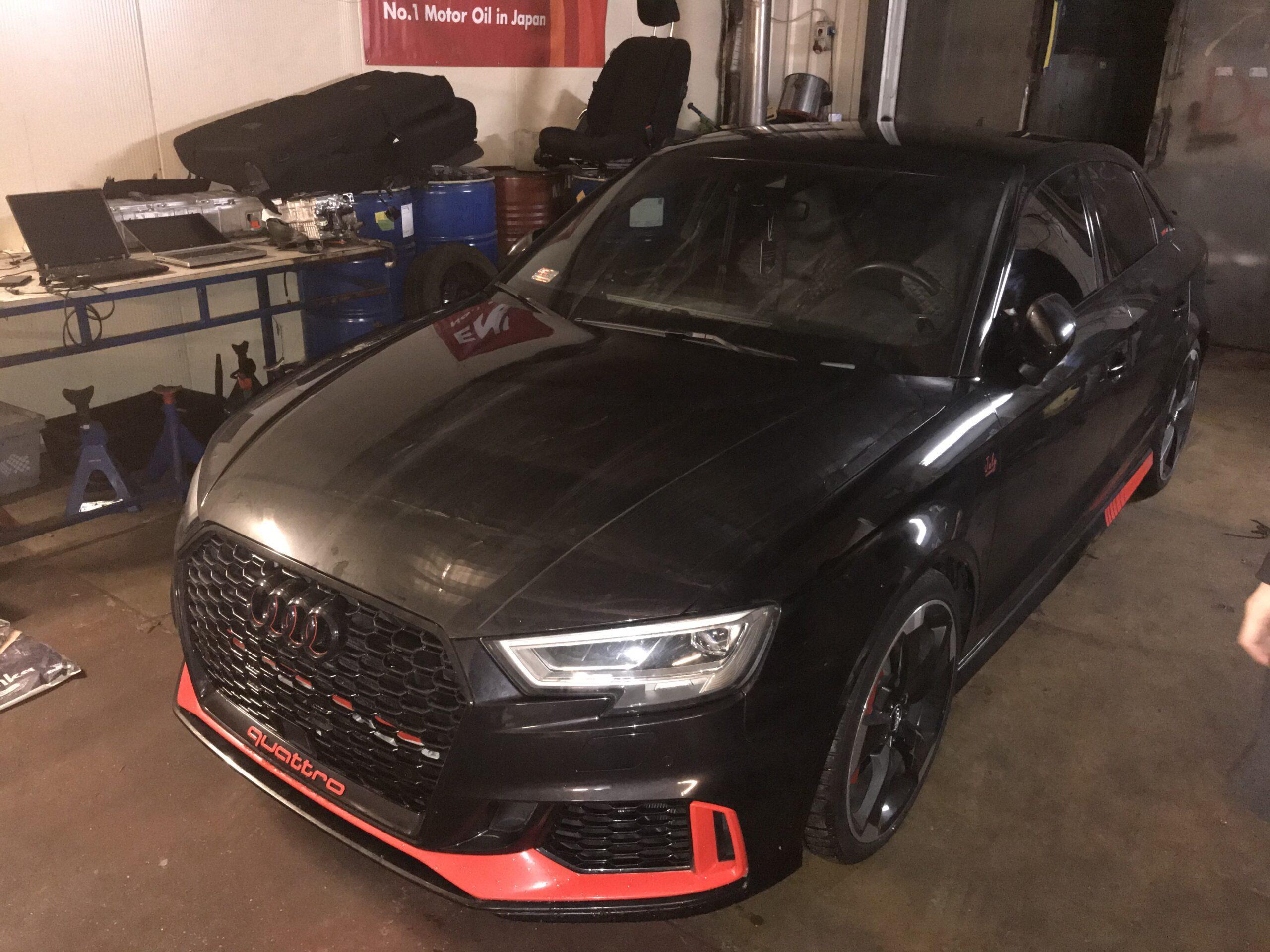 Naprawa samochodów hybrydowych Audi